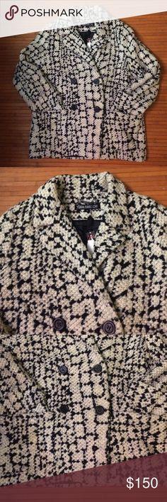 Anthro Yoana Baraschi Coat Never been worn. No visible signs of damage. Anthropologie Jackets & Coats Pea Coats