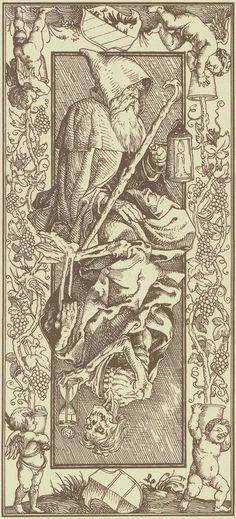The Hermit-Le Tarot d'Albrecht Dürer - Verso des cartes The Hermit Tarot, Arte Dark Souls, Rose Croix, Albrecht Dürer, Le Tarot, Esoteric Art, Arte Obscura, Occult Art, Illustration