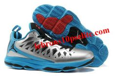 various colors 49627 3ba9b Jordan CP3.VIX Chris Paul Shoes Silver Black Blue Kd Shoes, Star