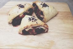 Mixed berry scones with crème fraîche and lavender