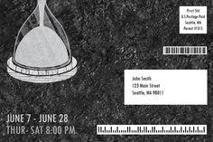 Postcard Mailer (Back) - Intiman Theatre Campiagn