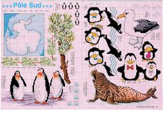 Penguins - Cross Stitch World