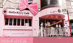 Hello Kitty Cafe in Asia~