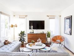"""2,110 Likes, 24 Comments - Rue (@ruemagazine) on Instagram: """"Our Managing Editor @kellilamb_ is over at @inspiredbythis sharing her LA home (designed by…"""""""