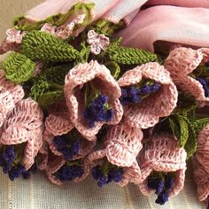 Turkish OYA Lace Flower stole/Pinkbeige Scarf Shawl For