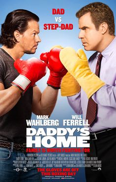 New posters and stills for the comedy film Daddy's Home, starring Will Ferrell and Mark Wahlberg