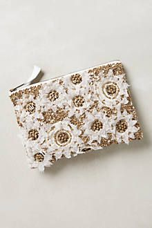 chasse blooms pouch