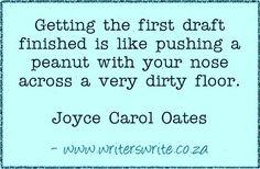 Quotable - Joyce Carol Oates - Writers Write