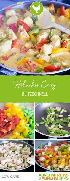 Lightning-fast low carb chicken curry - Chicken curry Informations About Blitzschnelles Low Carb Hähnchen Curry Pin You can easily use my p - Healthy Chicken Recipes, Healthy Dinner Recipes, Diet Recipes, Keto Chicken, Salad Recipes, Fast Low Carb, Healthy Eating Tips, Curry Recipes, The Best