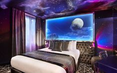 The Declic Hotel is a photography and astronomy-themed concept hotel in Paris, France.