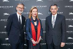 Vienna Flagship Opening - Jean Cassegrain, Pascale Teixeira da Silva and Pascal Teixeira da Silva
