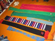 sjaals van de kleuters vergelijken, wie heeft de langste/de kortste sjaal, welke sjaals zijn evenlang? Fashion, Fashion Styles, Moda, Fashion Illustrations