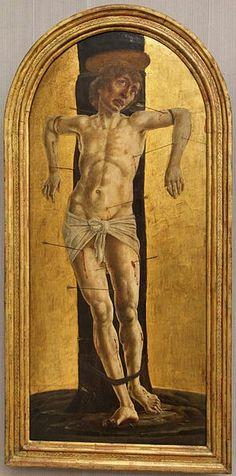 Cosmè Tura, San Sebastiano, 1484 ca