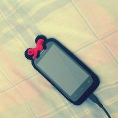 "Minnie crochet case on a Smartphone ""Vodafone Smart3"" Buy on Maparim"