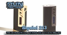 Sigelei 213 213w TC Mod in stock in both colors in the USA