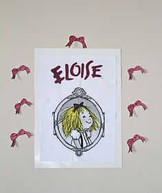 Pin the Bow on Eloise's Head game