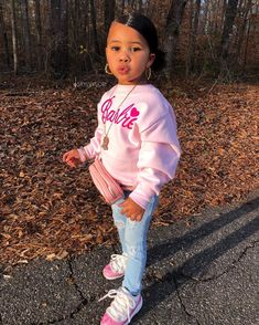 little girl outfits, toddler outfits, cute outfits for kids, baby outfits Cute Little Girls Outfits, Kids Outfits Girls, Toddler Girl Outfits, Toddler Swag, Little Girl Swag, Swag Kids, Toddler Toys, Cute Kids Fashion, Baby Girl Fashion