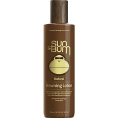 Protect, moisturize and tan your skin with Sun Bum's Premium Darkening lotion developed to accelerate the sun triggered tanning process in your skin. This lotion gets you that fast, deep tan without h