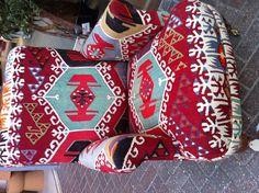 Kilm armchair