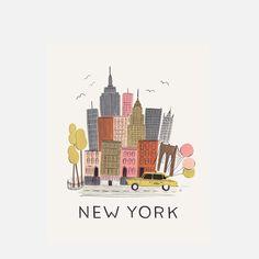 sweet | New York Print