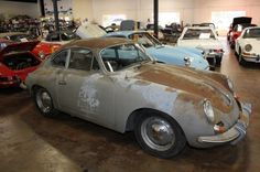 """1962 Porsche 356b - """"For some reason there have been a number of barn found Porsche 356s surfacing lately. This one has been parked in a barn for the past 25 years and as a result, needs some work."""""""
