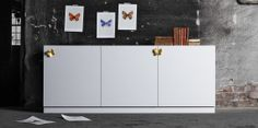 Butterfly handles - Superfront IKEA hack