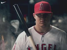 baseball started again :)))))))))))) Best Baseball Player, Better Baseball, Angels Baseball, Baseball Cards, Mike Trout, Athlete, Sports, Legends, Bae