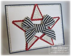 Stampin' Up! Pennant Punch  by Rae Harper at Wild West Paper Arts: You're A Star!