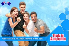 Indian Students Rise by 38% for Australian Visas