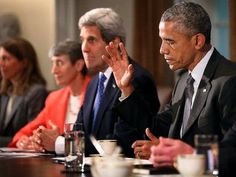 7 Devastating Facts About Obama's Iran Nuclear Deal. President Obama Holds A Cabinet Meeting At White House Facts About Obama, Obama Photos, John Kerry, Nuclear Deal, Political News, Political Quotes, American Presidents, Foreign Policy, Barack Obama