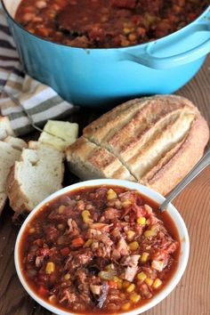 Brunswick Stew (with brisket and pulled pork)
