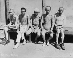 Survivors in Dachau After Liberation  (May 1945)