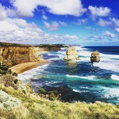 12 Apostles - Great Ocean Road Victoria - Australia.  12 Apostel - Great Ocean Road Victoria - Australien.  #mytravelgram #instatravel #travel #travels #traveling #travelgram #travelling #wanderlust #worldwidecouple #australien #australia #greatoceanroad #victoria #12apostles #12apostel by worldwide_couple http://ift.tt/1ijk11S