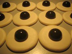 Wooden Cookies: Frollini al burro con pralina al cioccolato