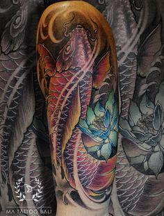 Color Koi Fish Tattoo by : Prima #MaTattooBali #ColorTattoo #KoiFishTattoo #BaliTattooShop #BaliTattooParlor #BaliTattooStudio #BaliBestTattooArtist #BaliBestTattooShop #BestTattooArtist #BaliBestTattoo #BaliTattoo #BaliTattooArts #BaliBodyArts #BaliArts #BalineseArts #TattooinBali #TattooShop #TattooParlor #TattooInk #TattooMaster #InkMaster #AwardWinningArtist #Piercing #Tattoo #Tattoos #Tattooed #Tatts #TattooDesign #BaliTattooDesign #Ink #Inked #InkedGirl #Inkedmag #BestTattoo #Bali Ma Tattoo, Piercing Tattoo, Tattoo Shop, Tattoo Studio, Tattoo Master, Ink Master, Koi Fish Tattoo, Fish Tattoos, Fine Line Tattoos