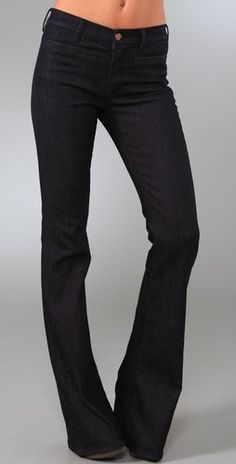MiH  Marrakesh Kick Flare Jeans  Style #:HEAVE40023  $189.00   Color - Raw  Size - 27