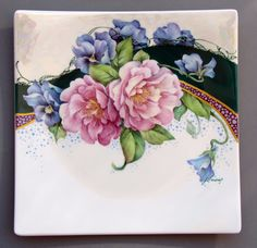 Camellias & Pansies with Techniques