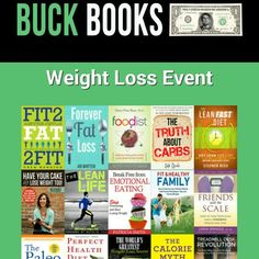 1 day only (20jan) is buckbooks weight loss event. These books will be $1 or $2!!!! Sign up to be reminded and get the email with the links directly to them (so you don't have to go searching each one on amazon)   http://buckbooks.net/708.html
