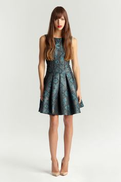 Ivy and Blu Maggy Boutique - Stella Jacquard Dress