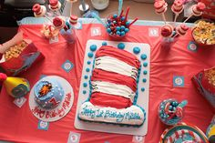 dr.seuss party ideas on a budget | them on my dr seuss birthday party board on pinterest