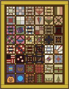 2007 Calendar Quilt BOM