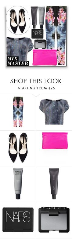 """""""mix master"""" by teresapulido ❤ liked on Polyvore featuring STELLA McCARTNEY, Coast, Zara, Marc by Marc Jacobs, Bite, NARS Cosmetics and patternmixing"""