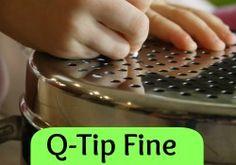 Q-Tip Q theme