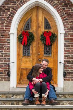 Christmas Engagement Shoot by Crazy Beautiful Weddings | Image by Samantha Joy Photography