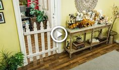 Paige Hemmis explains why every dog owner should have a dog gate and she shows you how to make your own at home. She explains that dog gates are healthier al. Cat Gate, Diy Dog Gate, Diy Baby Gate, Wood Baby Gate, Puppy Gates, Dog Gates, Small House Diy, Diy Garden Fence, Hallmark Channel
