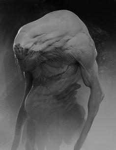 Rhubarbes: by Anthony Jones, Concept Art Alien Concept Art, Creature Concept Art, Monster Design, Monster Art, Creature Feature, Creature Design, Aliens, Anthony Jones, Mythological Animals