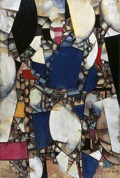 Fernand Léger, La Femme en bleu, 1912 ۩۞۩۞۩۞۩۞۩۞۩۞۩۞۩۞۩ Gaby Féerie créateur de bijoux à thèmes en modèle unique ; sa.boutique.➜ http://www.alittlemarket.com/boutique/gaby_feerie-132444.html ۩۞۩۞۩۞۩۞۩۞۩۞۩۞۩۞۩