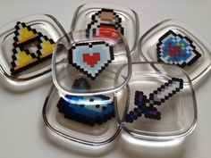 It's dangerous to go alone: take one of these coasters! | Offbeat Home