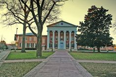 Ole Miss Lyceum-my husband proposed to me under that magnolia tree:)