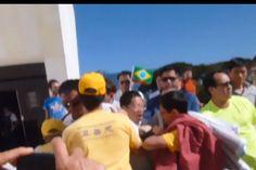 Praticantes de Falun Gong são agredidos por chineses em Brasília | #Brics, #China, #DilmaRousseff, #DireitosHumanos, #ExtraçãoForçadaDeórgãos, #FalunDafa, #FalunGong, #PartidoComunistaChinês, #PT, #XiJinping